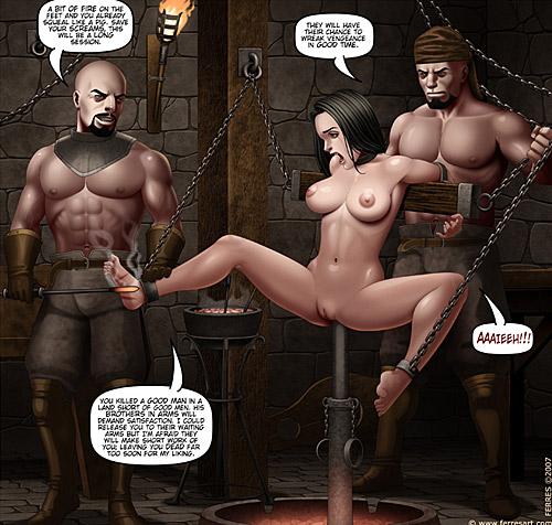 Incredible bdsm ancient porn comics