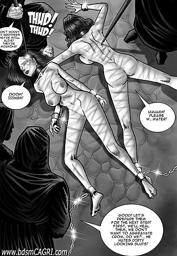 Slave girls from bdsm comics